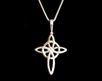 Celtic Cross Sterling Silver