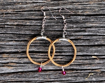 Guitar String Earrings - The Delilah