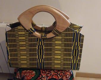 Wax woman handbag