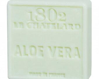 Soap SAVON de Marseille Natural Aloe vera, 100 gr