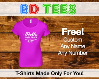 Back to School t-shirt or girls,.