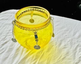 Moroccan Hanging Tealight Lantern