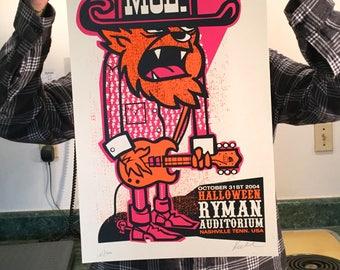 Moe. Wolfman 2004 poster
