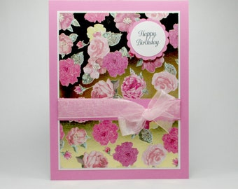 Birthday card for her, happy Birthday cards, Birthday cards for women, Birthday card for mom, Birthday card for friend, bellacardcreations