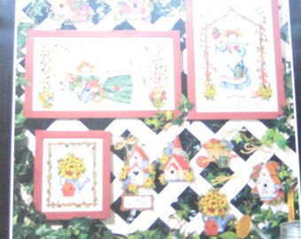 Gardeners Delight Cross Stitch Pattern Dimensions