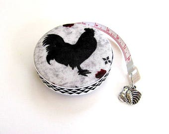 Tape Measure Roosters and Chickens Retractable Measuring Tape