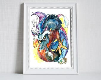 Print ~ Discord ~ My Little Pony