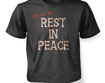 Rest In Peace Bones kids t-shirt