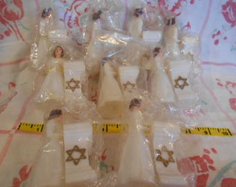 Vintage Lady Religious Cake Topper-Nine Toppers-Sealed-Old Store Stock
