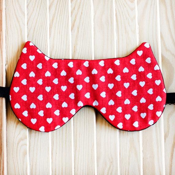 Handmade Paisley Sleep Mask Cat Lover Gift For New Mom