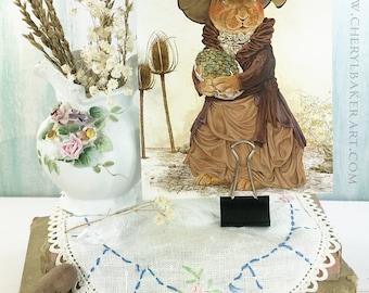 Greeting Card - Rabbit Card - Bunny Card - Greeting Card Set - Woodland Greeting Card - Whimsical Card- Just Because Card