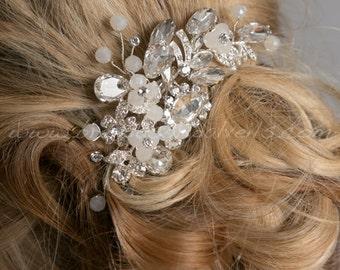 Rhinestone Wedding Hair Comb, Wedding Hair Accessory - LaDonna