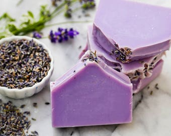 Relaxing Lavender Cold Process Soap