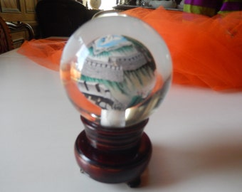 CHINA PAPERWEIGHT with Stand
