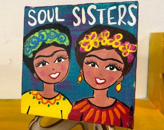 Soul Sisters Canvas Painting