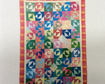Remember to Write Home Quilt Pattern