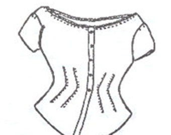 PI501 - Corset Cover Sewing Pattern by Period Impressions