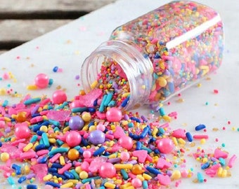 Sprinklefetti Happiness Sprinkles Mix, Edible Sprinkles, Cake Sprinkles, Cupcake Sprinkles, Sprinkle Blends, Princess Party Sprinkles