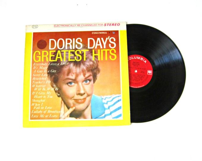 Doris Day's Greatest Hits Vinyl Record Album 12 Inch LP Vintage Music Columbia Record Album