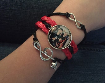 Five Seconds Of Summer infinity bracelet