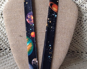 Science Teacher Astronomy Solar System Planets ID Holder Badge holder