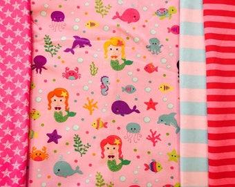 Mermaids FH cl bundle total of 2 yards