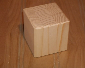 "50 unfinished 2"" wooden blocks, unfinished wood blocks, wood blocks, baby blocks, toy blocks, unfinished craft blocks"