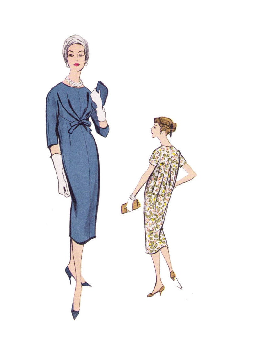 Patrón de costura de edición especial de Vogue 4865 arco del