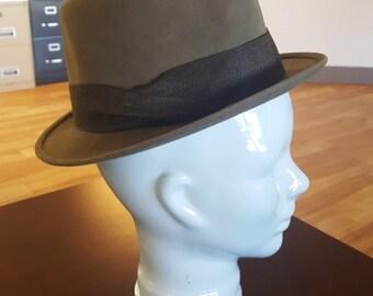 Vintage Fedora Stetson Hat The Sovereign