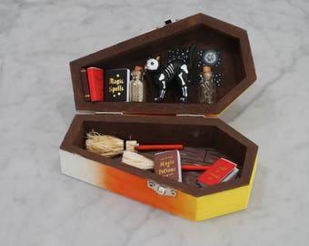 A Witch's Gaurdian - Halloween Box