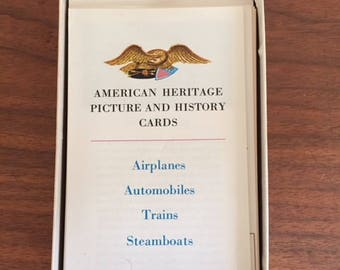 American Heritage Steamboat Cards