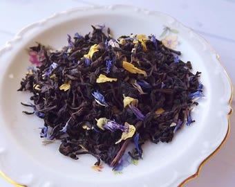 Black Currant Tea,  Loose Leaf Tea, Black Tea, Wedding Favor, Shower Favor, Tea Party Gift, Iced Tea