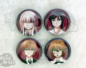Danganronpa Buttons (Pick your Buttons) 1.5""