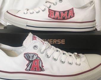 38af9e9030ba7f ... reduced university of alabama crimson tide converse chuck taylor  sneakers ncaa 3250c 23280