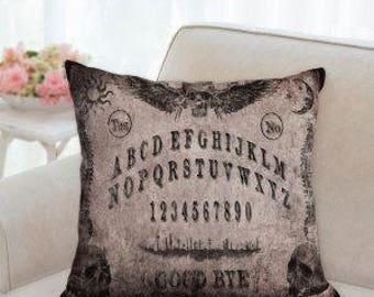 Halloween Ouija Board Lavender Pillow