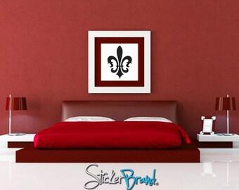 Vinyl Wall Decal Sticker French Fleur De Lys 3  KTudor108