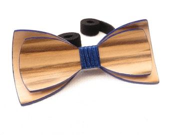 Beautiful Wood Bow Tie 0040