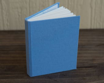 Baby Blue Linen Journal