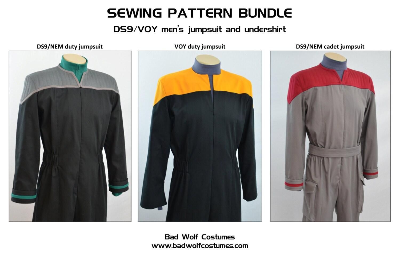 Beautiful Star Trek Sewing Pattern Photo - Sewing Pattern for ...