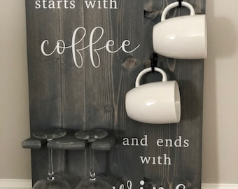 Coffee & Wine Holder 16x24 in