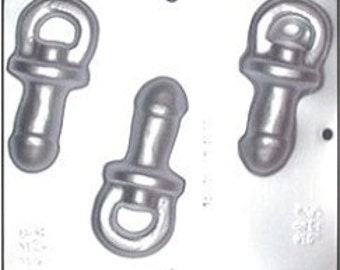 Penis Pacifier Chocolate Candy Mold 719
