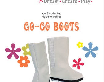 Go-Go Boots for 18 inch dolls