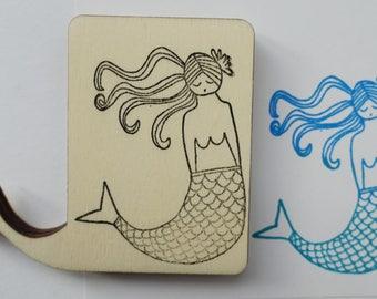 Stamp Mermaid