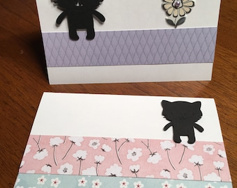 Cute kittens - set of 2 cards