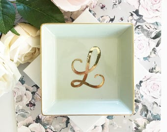 Mint Ring Dish Mint Bridesmaid Gift Ideas Mint Gifts for Women Mint Jewelry Dish Mint Gift Ideas for Her (EB3180SM)