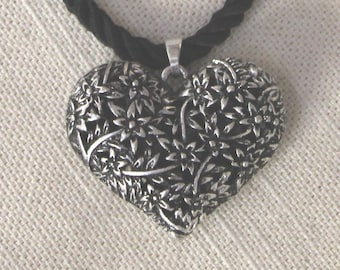 Floral Filigree Heart