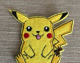 Pokémon Pikachu Iron On Patch