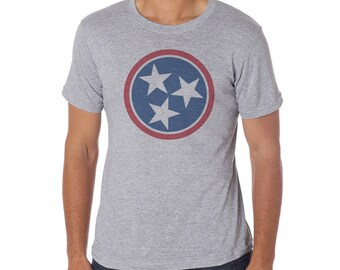 TENNESSEE Tri Star - Hipster Unisex Tee for lovers of TN