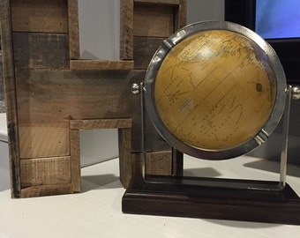 Wooden Reclaimed Pallet Letters w/ Boarder