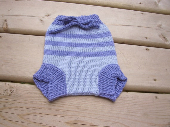 Hand Knitted Wool Diaper Cover Knit Cloth Diaper Wool Diaper